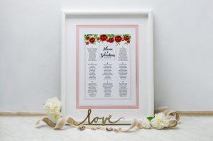 tablica różowa